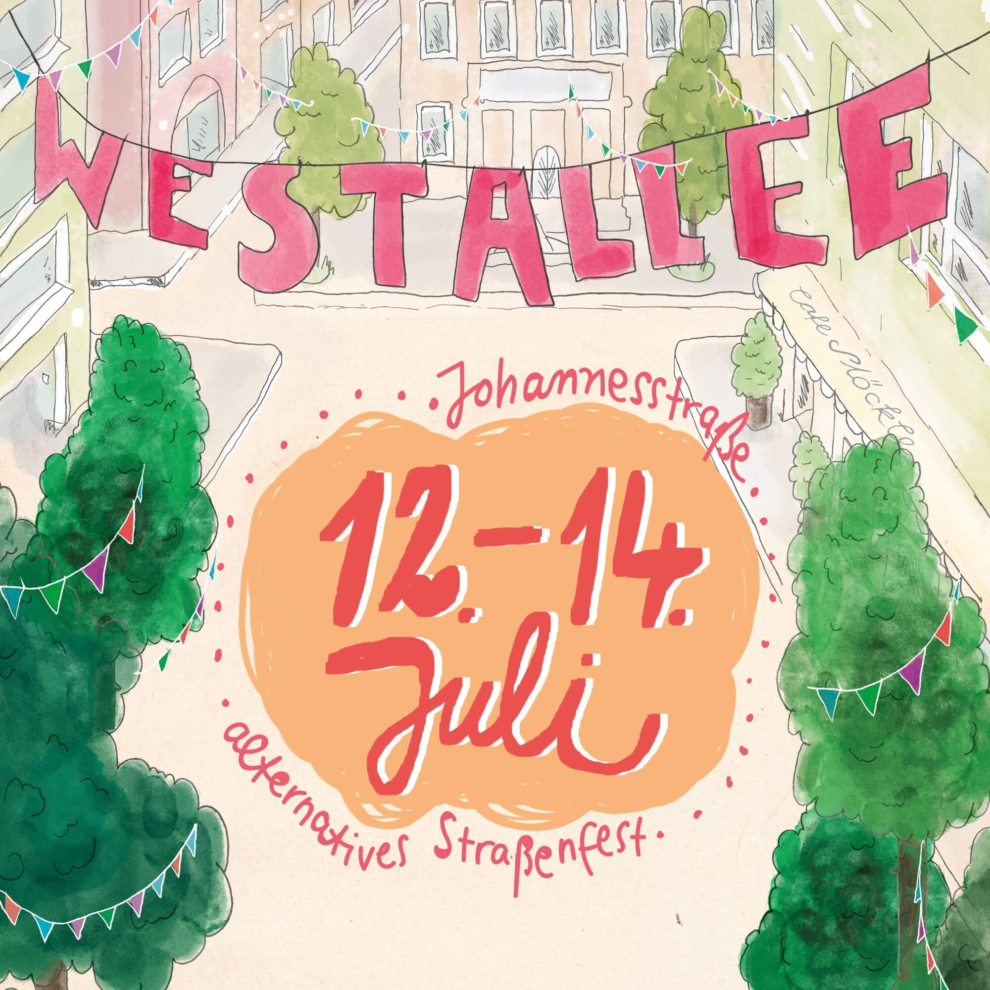 Westallee - alternatives Straßenfest im Stuttgarter Westen